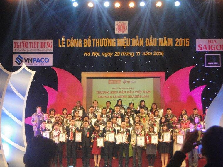 Top 100 thương hiệu dẫn đầu Việt Nam