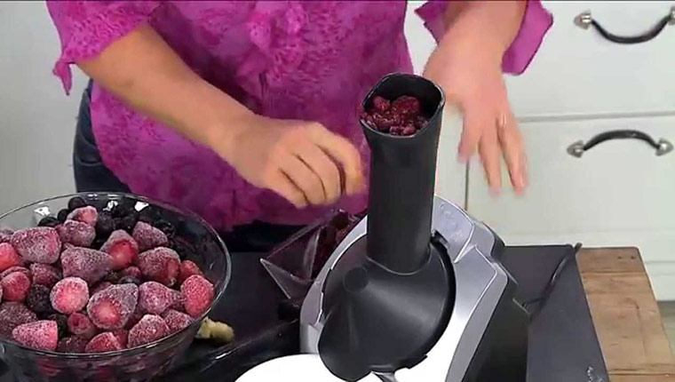 Máy làm kem kiểu máy say sinh tố