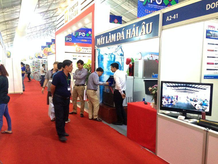 Hải Âu tham dự Hội chợ Thương mại Quốc tế Việt Nam – VIETNAM EXPO 2016