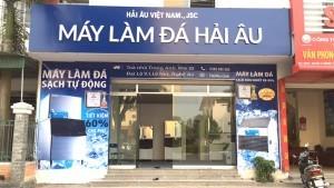 Tưng bừng khai trương showroom máy làm đá Hải Âu tại Vinh