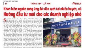 Khan Hiếm Nguồn Cung Ứng Đá Viên Sạch tại Nhiều Huyện, Xã