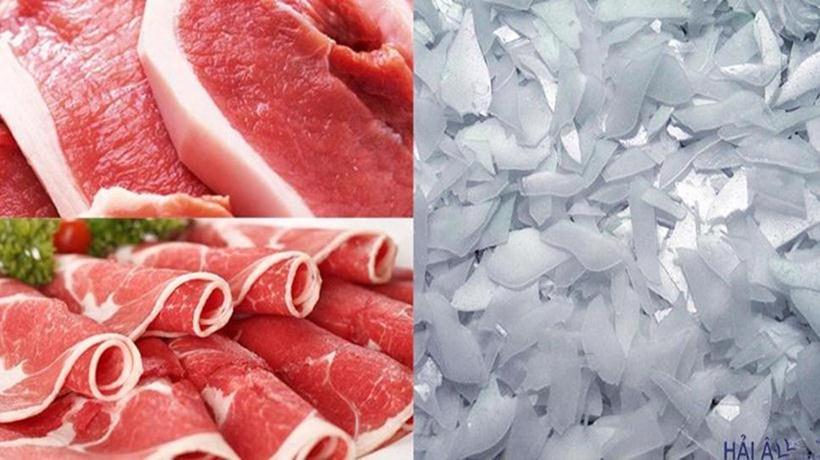 đá vảy bảo quản thịt