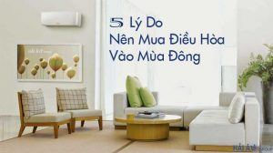 5 Lý Do Nên Mua Điều Hòa Vào Mùa Đông