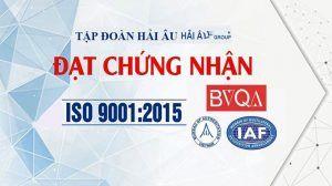 Hệ Thống Quản Lý Chất Lượng Hải Âu Group Đạt Chuẩn ISO 9001:2015